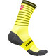 Castelli Podio Doppio 13 Socks Unisex yellow fluo/black
